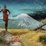 Этническая картина Ленгаи