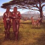 Братство - энническая картина Paul Jaarsma
