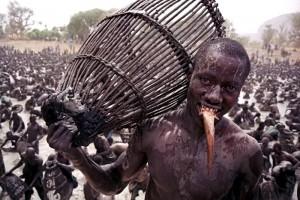 Традиция рыбалки в племени Догонов