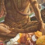 Этническая картина Спящий в ногах вечности