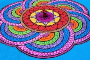 Ранголи — рисунок-молитва Индии