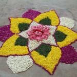 Ранголи - сакральное украшение для дома