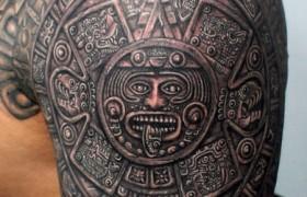 Татуировки Майя: особенности и семантика