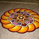 Индийское искусство со смыслом - ранголи