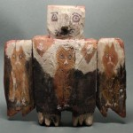 Фигурка с опущенными руками от шамана народа