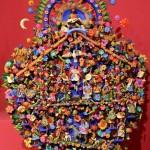 Русалки, животные, цветы - этнический каллейдоскоп на дереве