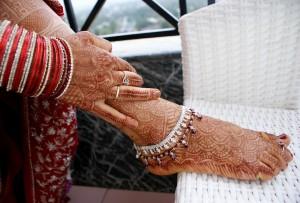 ножные браслеты - обязательный атрибут индианки