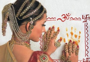 Кешапашачаранча - украшение волос индианок