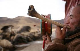 Небесный обряд погребения у тибетцев