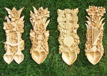 кельтская ложка - символическое послание возлюбленной