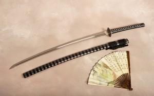 древнее японское оружие - катана