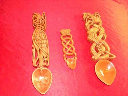 Валлийская ложка - символ любви