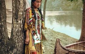 Архивные фотографии индейцев конца XIX века.