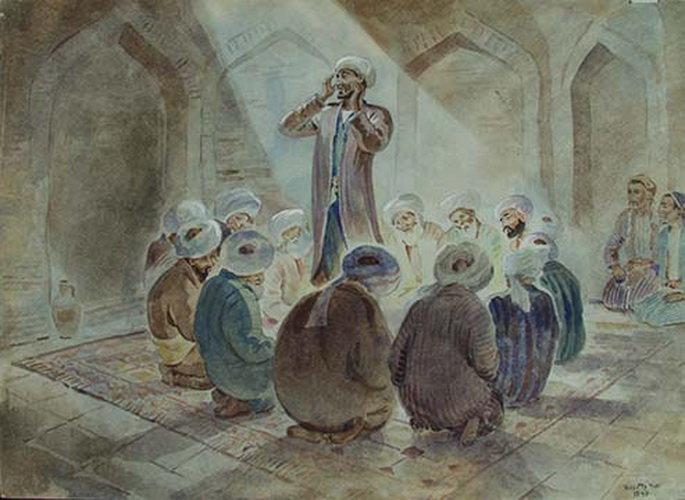 Зикр суфиев - соединение с божественным