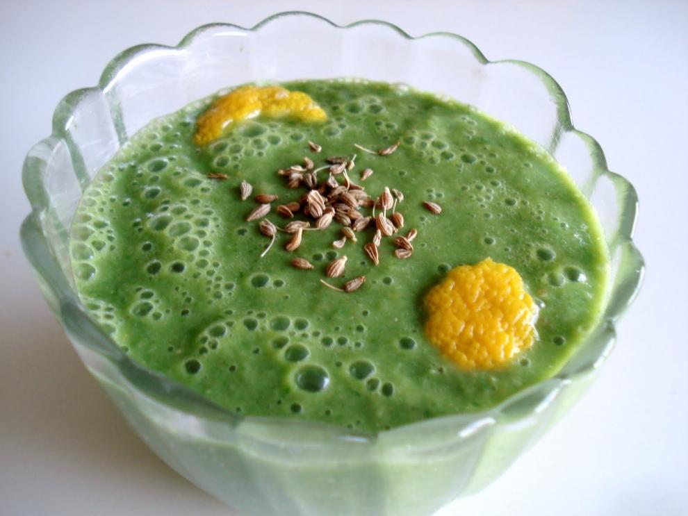 Аоджиру - напиток из капусты. Япония