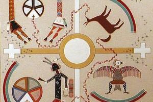 Легенда племени Навахо — Пять миров