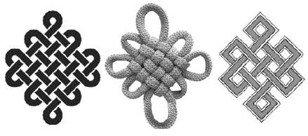 Схема тибетского узла