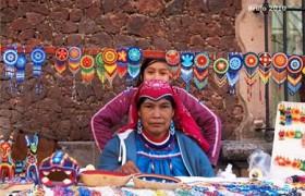 «Глаз Бога»- мандала мексиканских индейцев Уичоль