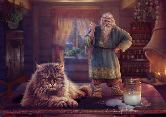 Кошки в славянской традиции C855cea961ebc3d64ec9aa7c7aa4b07d