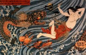 Путешествие в Страну Мрака (японская сказка)